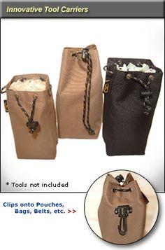 3 Multi-Purpose Clip-On Bag Combo
