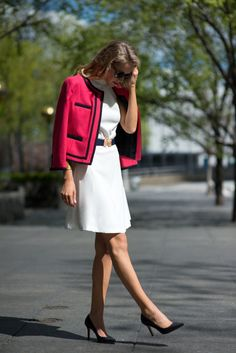 Shot by Alexander Scott Harris Dress: Tommy Hilfiger (sold out but similar here, here, here and more below)  |  Jacket:...