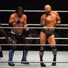 AJ Styles & Karl Anderson . que lol ajajajaj :D