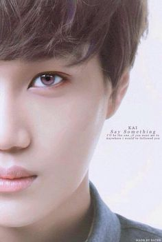 """""""He (Prince Kai from the lunar chronicles) also gets compared to this guy from the Korean pop band EXO. His name is also kai(like in real life) and he looks really similar to how I imagined my Kai."""" -Marissa Meyer"""