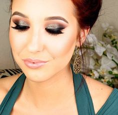 Jaclyn Hill- Prom 2014 Glittery Smokey Eye (click on picture for link to YouTube)