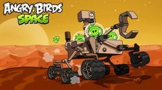 Angry Birds Space: Red Planet :)))