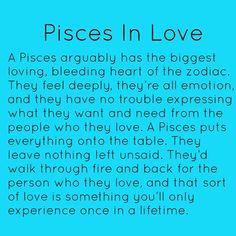 Pisces in Love