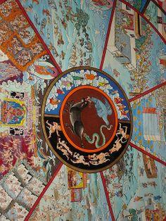 Tibetan Monastery | Wheel of life, Tibetan monastery, Litang