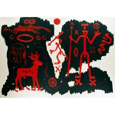 A.R. Penck: The World of Hunters