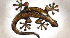 Salamandre geckos pinterest geckos et articles for Decoration murale doree