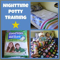 Nighttime Potty Training