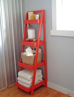 I want to make this!  DIY Furniture Plan from Ana-White.com  A free standing storage tower, with varying size shelves. perfect for tight spaces that need extra storage, but still plenty of elbow room.