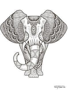målarbilder, målarbild, gratis målarbilder, gratis målarbild, målarbok, målarböcker, målarbok för vuxna, målarböcker för vuxna, zentangle, mandala, mindfulness, måla, färglägga, mindfullness, doodle, bättre hälsa, bra hälsa, elefant, djur, djurmotiv, natur, naturmotiv, safari, safaribilder, ornament, ornamentik
