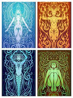Goddess Ignis, Goddess Aqua, Goddess Terra, Goddess Ventus: Ancient Ones, Main…