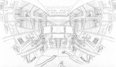 image result for 3 point perspective drawing of rocket leanvp