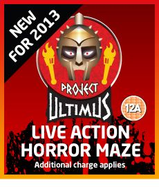 Project Ultimus - new for 2013 at Frightwater Valley.
