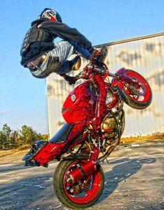 Custom Sport Bikes, Custom Harleys, Stunt Bike, Speed Bike, Moto Bike, Motorcycle Clubs, Bike Rider, Fox Racing, Dirtbikes