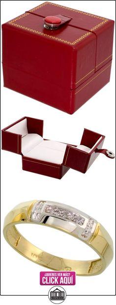 Revoni - Juego de alianzas de oro amarillo  ✿ Joyas para hombres especiales - lujo ✿ ▬► Ver oferta: http://comprar.io/goto/B005M3ESNU