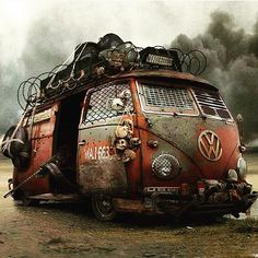 To Eternity and back. #VW #Bus #T1                                                                                                                                                                                 More