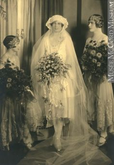 Miss Daintry Notman's wedding, Montreal, QC, 1925