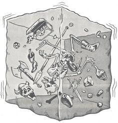Gelatinous Cube via http://www.rickveitch.com/2010/12/04/the-gelatinous-cube/