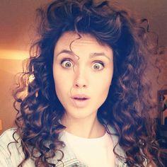 Poppy Drayton curly hair