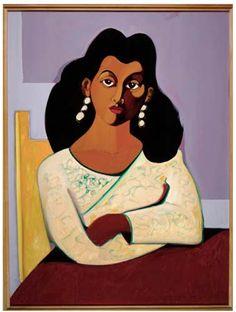 1991 Portrait of Alitash by Emilio Cruz