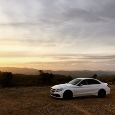 The perfect setting for a perfect car! The Mercedes-AMG C Photo shot by during the pressdrive in Portugal. Amg C63, Daimler Ag, High Performance Cars, Bmw, C Class, Mercedes Benz Cars, A Beast, Dream Cars, Photoshoot