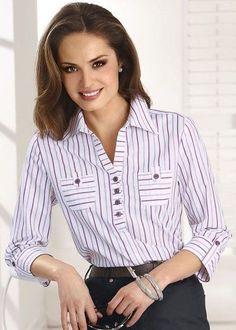 c469df6c8a 557 melhores imagens de Camisas e Blusas manga longa