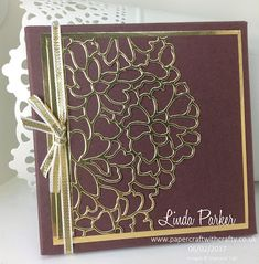 Papercraft With Crafty: Life Begins After Coffee ! Foiled Coaster Project with So Detailed Thinlits Box