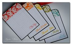 great set of cards to make as a gift!