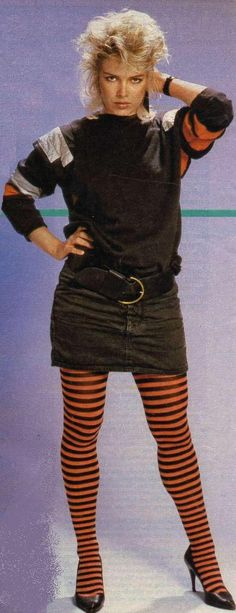 Kim Wilde (UK) -- a lot of the 80s fashions were ridiculous, but this cutie could pull off about anything!