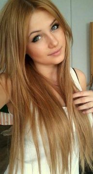 lovely haircolor. dark blonde