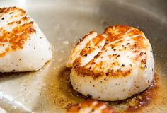 I've always wanted to cook scallops...great directions for buying the right kind and NOT overcooking.