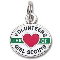 Volunteers Love Charm qty.2 #12043 $5.00ea