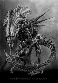 :ALIEN QUEEN: by *SilentDeath007 on deviantART