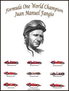 World Champion - Juan Manuel Fangio