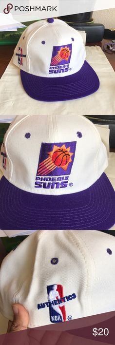 PHOENIX SUNS Fitted Cap. Authentic 💜💜 Super cool vintage Phoenix Suns Cap. 3 different sizes available. ❤️NO TRADES❤️ 7 7 1/8 7 3/8 NBA Accessories Hats