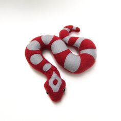 Corn Snake plush soft sculpture  Miami Morph  by weirdbuglady, $45.00