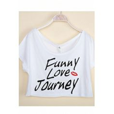 Fashion Simple Boat Neck Letters Print Short Sleeves White Cotton T-shirt_T-shirt_Tops_Womens Clothing_Cheap Clothes,Cheap Shoes Online,Wholesale Shoes,Clothing On lovelywholesale.com - LovelyWholesale.com