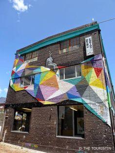 Woodstock, Cape Town, South Africa. Street Art
