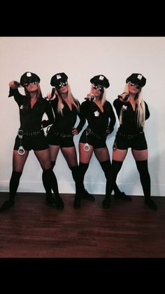 Sexy cop Halloween costume More -You can find Group costumes and more on our website.Sexy cop Halloween costume More - Cute Group Halloween Costumes, Couple Costumes, Couple Halloween, Halloween Outfits, Halloween Halloween, Women Halloween, Halloween College, Halloween Makeup, Kid Costumes