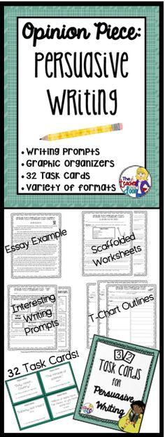 31 Opinion Piece Persuasive Essay Writing Complete Writing Set Ideas Persuasive Writing Teaching Writing Essay Writing