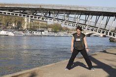Un entraînement  sur les bords de Seine ? Parfait !! Avec ce soleil   #Vitalchallenge  Crédit photo : Aurélie Michel
