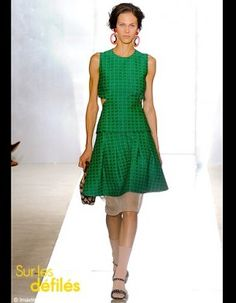 Marni green dress