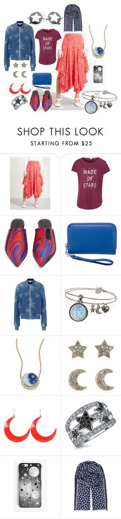 """Untitled #3658"" by moestesoh ❤ liked on Polyvore featuring STELLA McCARTNEY, Fat Face, Marques'Almeida, Lewis N. Clark, Sweet Romance, Jacquie Aiche, Carolee, Bling Jewelry, Rianna Phillips and Maze"