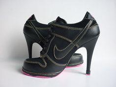 Nike Dunk SB Heels Low Black Pink