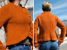 Sunrise Circle Jacket Knitting Pattern PDF-kate gilbert