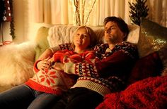 PHOTO OF THE DAY - 16th October 2015:   David Tennant and Joanna Page in Nativity 2: Danger In The Manger!