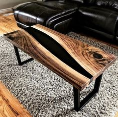 """917 Likes, 5 Comments - Woodworking (@woodworkinglover229) on Instagram: """"reposted from @wooddefined Thx 4 your pics Wood and resin coffee table. ▪️▪️▪️▪️▪️▪️▪️▪️▪️▪️…"""""""