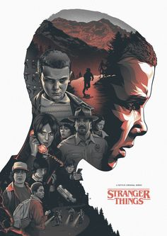 Stranger Things - Created by Amien Juugo