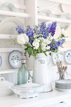Flores en la cocina | Estilo Escandinavo