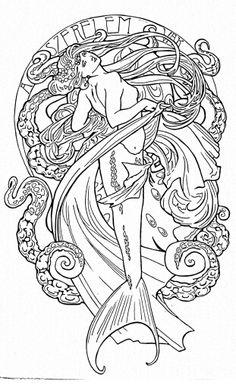 Art tattoo design