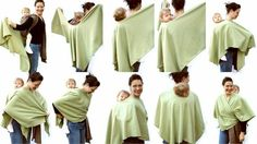 Poncho for back carries - would be perfect for fall / spring
